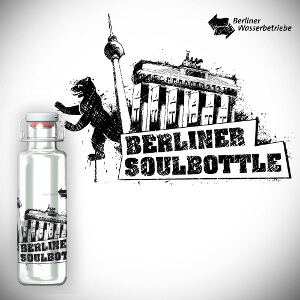 Design voor glasflessen 'Soulbottle'